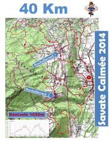 2014 présentation savate 40km